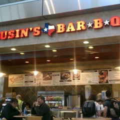 Photo taken at Cousin's Bar B Q by Tony C. on 1/3/2012