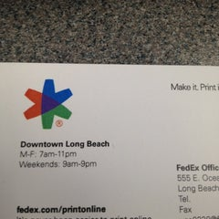 Photo taken at FedEx Office Print & Ship Center by nika m. on 8/22/2012