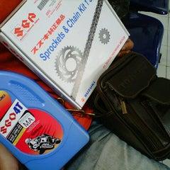 Photo taken at Suzuki Hero Sakti Motor Gemilang by Selvia I. on 12/31/2011