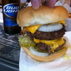 Photo taken at Stella's Hamburgers by Clinton P. on 8/12/2012