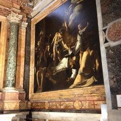 Photo taken at Chiesa di San Luigi dei Francesi by Bryan K. on 3/1/2012