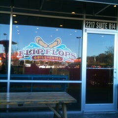 Photo taken at Flip Flops Grill + Chill by Michael S. on 11/25/2011