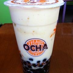 Photo taken at Ocha Tea Café by Aki K. on 3/20/2011