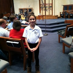 Photo taken at Temple Rodef Shalom by Sam S. on 12/18/2011