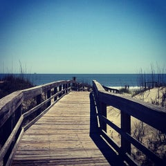 Photo taken at Atlantic ocean Tybee Island by Nancy W. on 4/8/2012