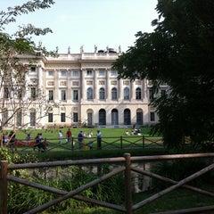 Photo taken at Giardini di Villa Reale by Vincenzo D. on 9/17/2011