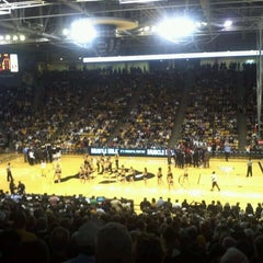 Photo taken at Coors Events Center by Nina B. on 1/21/2012