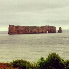 Photo taken at Rocher Percé by Lisa P. on 8/12/2012