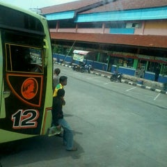 Photo taken at Terminal Kampung Rambutan by Rizal N. on 3/11/2012