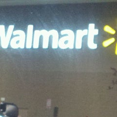 Photo taken at Walmart Supercenter by Taylor W. on 11/8/2011