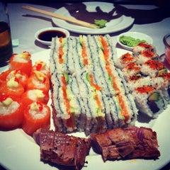 "Photo taken at Active Sushi by Jonathan ""Oros"" O. on 2/9/2012"