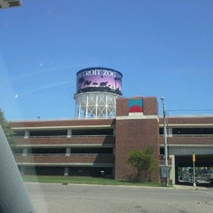 Photo taken at Detroit Zoo Water Tower by April W. on 7/11/2012