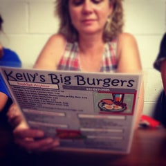 Photo taken at Kellys Big Burger by Caleb B. on 7/4/2012