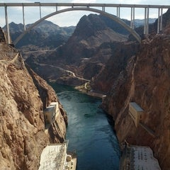 Photo taken at Hoover Dam by Dustin J. on 8/12/2012