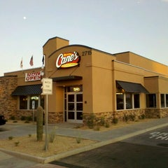 Photo taken at Raising Cane's Chicken Fingers by Adan H. on 9/9/2011