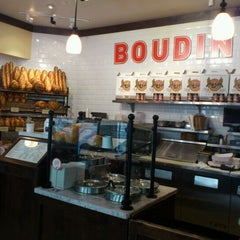 Photo taken at Boudin Bakery Café Macy's Kiosk by Katerina O. on 1/17/2012