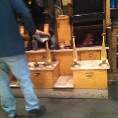Photo taken at Jim's Shoe Repair by John M. on 4/2/2011