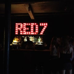 Photo taken at Red 7 by Sandy I. on 4/27/2012