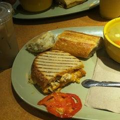 Photo taken at Panera Bread by Jordan on 7/14/2012
