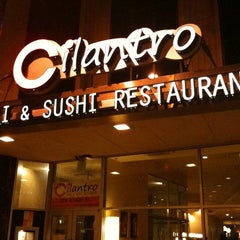 Photo taken at Cilantro Thai & Sushi by Charlie S. on 3/29/2011