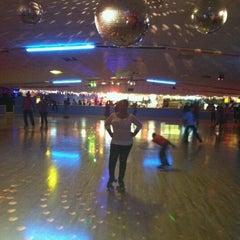 Photo taken at Almeda Skating Rink by Torrie C. on 12/19/2011