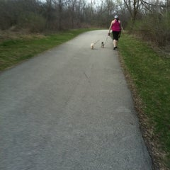 Photo taken at Dog Path by Linnea E. on 3/21/2012