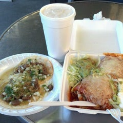 Photo taken at Taqueria La Mexicana by Adrian D. on 6/29/2012