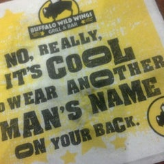 Photo taken at Buffalo Wild Wings by The P. on 3/18/2012