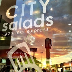 Photo taken at City Salads by Luis E. on 8/20/2012