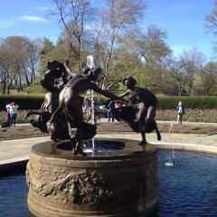 Photo taken at Central Park - Conservatory Garden by Jeremy A. on 4/8/2012
