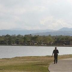 Photo taken at Sloan's Lake Park by Stephen Steel D. on 4/29/2012