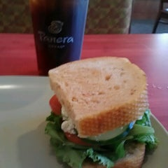 Photo taken at Panera Bread by Molly M. on 7/21/2012