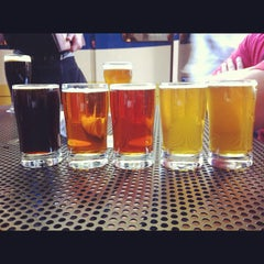 Photo taken at Rock Bottom Brewery by Jen R. on 6/28/2012