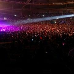 Photo taken at 올림픽체조경기장 (Olympic Gymnastics Arena) by Heejae C. on 5/11/2012