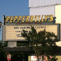 Photo taken at Pepper Belly's Comedy Club by Edward E. on 5/25/2012