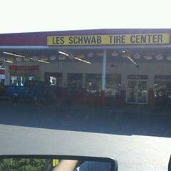 Photo taken at Les Schwab by Jared H. on 7/25/2012