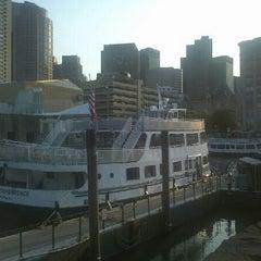 Photo taken at Boston Harbor Cruises by Kristen on 8/30/2012