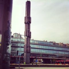 Photo taken at Sergels Torg by Tomas L. on 4/10/2012
