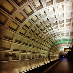 Photo taken at Capitol South Metro Station by That John on 7/8/2012