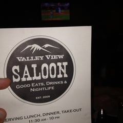Photo taken at Valley View Saloon by Jim J. on 8/14/2012
