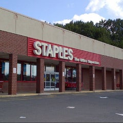 Photo taken at Staples by B n H on 8/16/2012