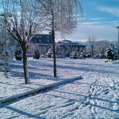 Photo taken at Sakarya Üniversitesi by Ahmet E. on 1/15/2012