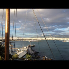 Photo taken at Ναυτικός Όμιλος Ελλάδος (Yacht Club of Greece) by debs s. on 5/15/2012