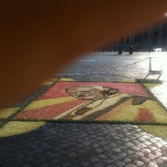 Photo taken at Piazza Pio XII by Elisa S. on 6/29/2011