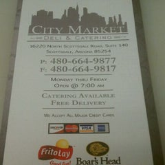Photo taken at City Market Deli by Brett L. on 4/29/2011