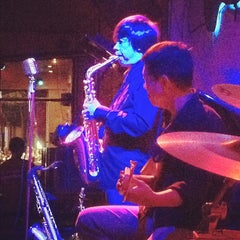 Photo taken at Saxn'art Jazz Club by ToughkidCST K. on 2/29/2012