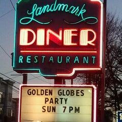 Photo taken at Landmark Diner by The Joy Writer J. on 1/15/2012