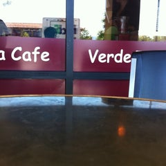 Photo taken at Verde Tea Cafe by DuyFany on 6/30/2011