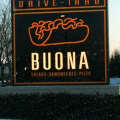 Photo taken at Buona Beef by Jackie T. on 1/28/2012