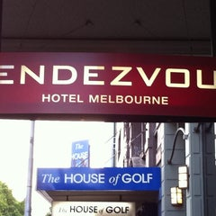 Photo taken at Rendezvous Grand Hotel by Frank T. on 11/8/2011